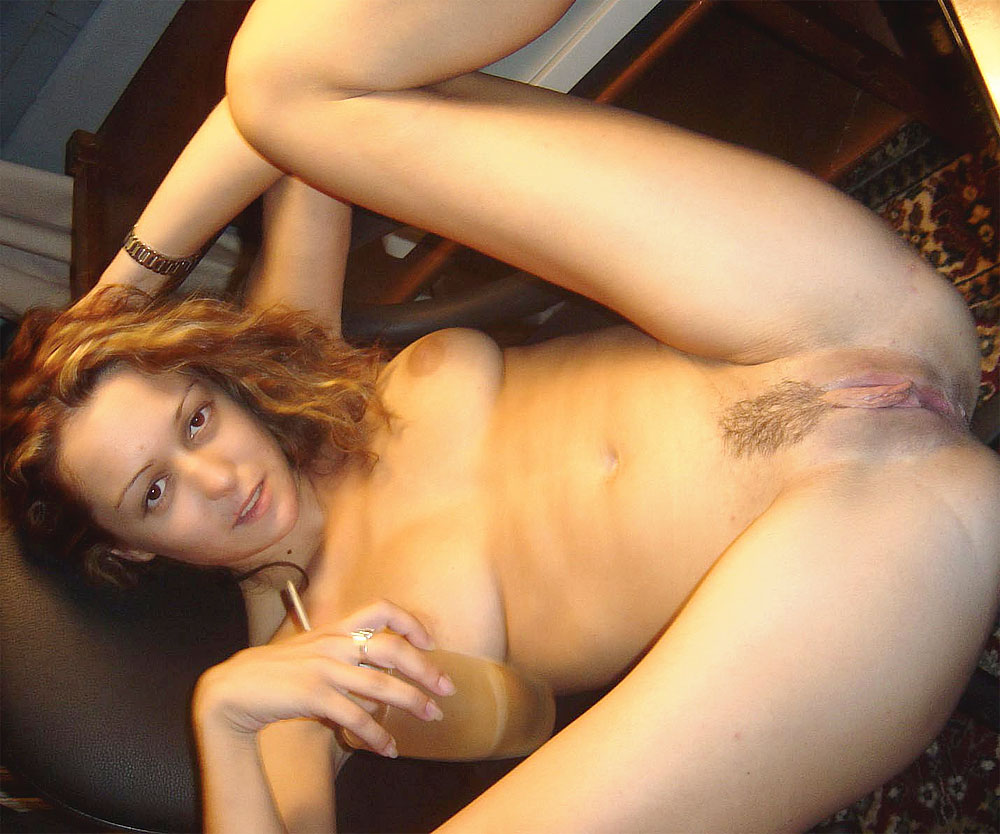 Naked girlfriend wife